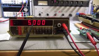 Keithley 179A Bench Multimeter   Calibrated