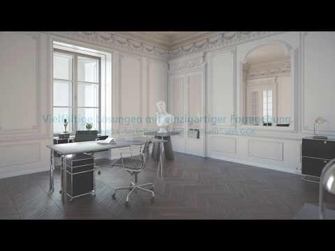 """4D E-Sockelleiste """"Berliner Profil"""" - klassischer Fall von schöner Form."""