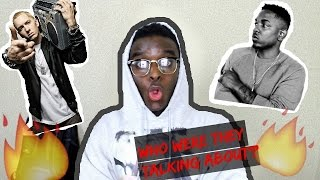 Eminem - Love Game ft. Kendrick Lamar REACTION!!