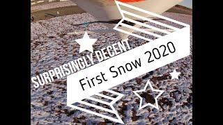 Crash Landings! FPV Ranger EX Plane in 4K! Landing gear break again! First Snow of the Year!
