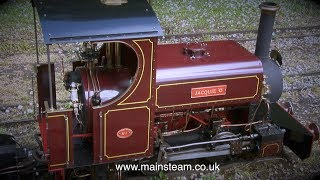 HOW TO RUN A MINIATURE STEAM LOCOMOTIVE - THE COMPLETE PROCESS