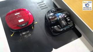 The Samsung VR9000 POWERbot vs LG Roboking