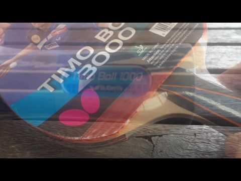 Comparación Raquetas Butterfly Timo Boll 1000 y Timo Boll 3000