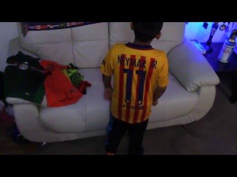 Nike FC Barcelona Neymar Jr Jersey 2015 / 2016 HD