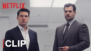 Bathroom Fight Scene   Tom Cruise & Henry Cavill   Mission: Impossible- Fallout   Netflix India