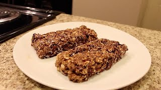 Homemade Protein Bars And Deload Week