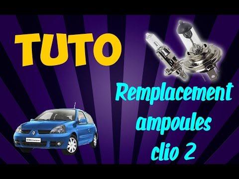 Tuto : Remplacement ampoules phare avant (CLIO 2)
