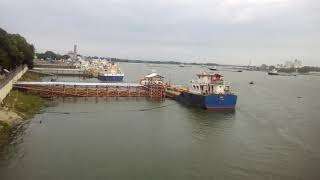 preview picture of video 'Baghabari naval port Shahzadpur...'