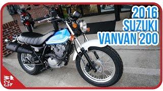 2016 Suzuki VanVan 200 | First Ride