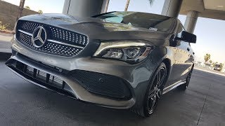 2018 Mercedes-Benz CLA 250 Walkaround and Review by Alan Villasenor