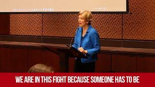 Elizabeth Warren Kicks Off #TakeOnWallStreet (Full)