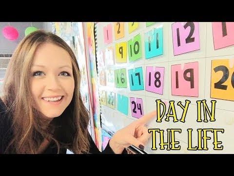 A Day in the Life of a Teacher - TEACHER VLOG