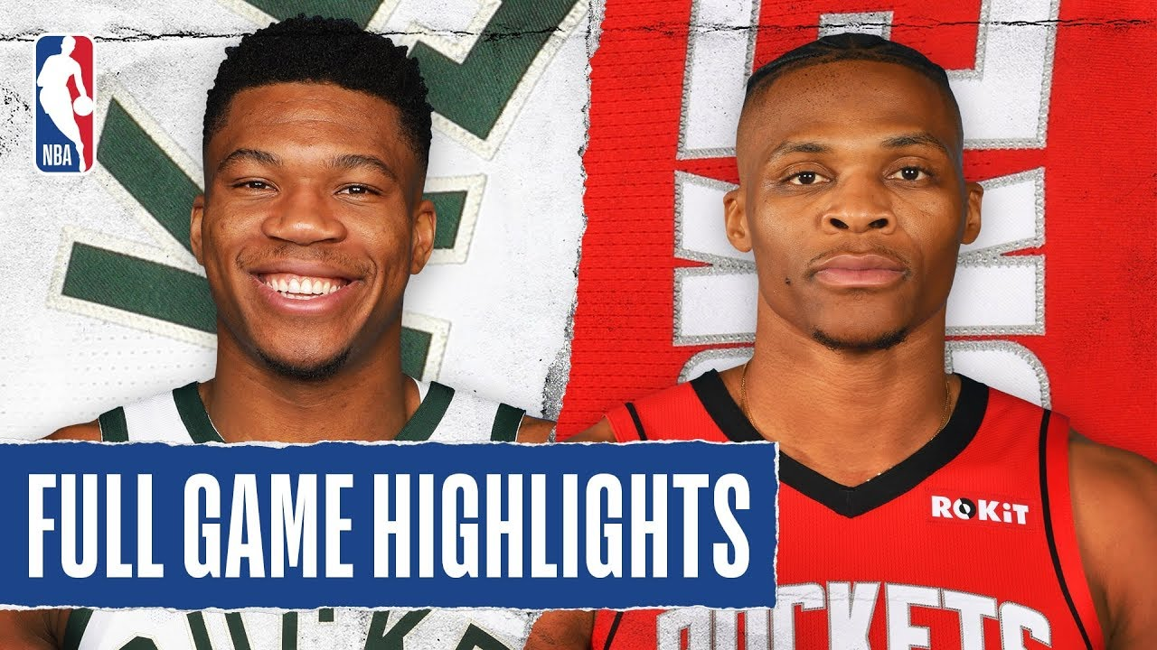 Bucks vs Rockets - [02 August 2020]