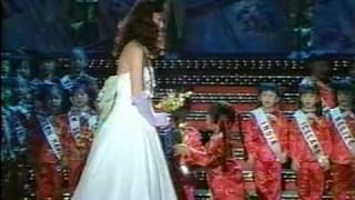 MISS UNIVERSE 1988 Evening Gown