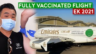 Emirates EK2021 Fully Vaccinated Flight – The Future Way to Fly?