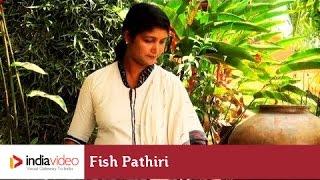 Fish Pathiri - a popular North Malabar dish