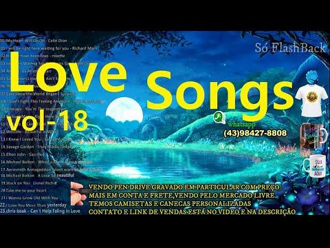Músicas Internacionais Românticas - Love Songs 70s, 80s, 90s - Vol-18