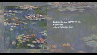 Suite in C minor, BWV 997