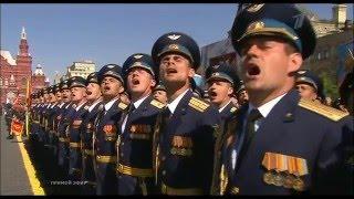 Москва парада по случай деня на победата 9 май 2016