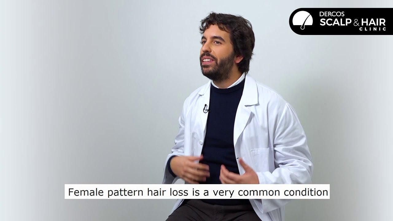 ¿Qué es la alopecia de patrón femenino?