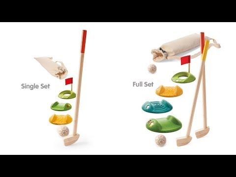 Vorschau: Minigolf Set für 2 Spieler, 9-teilig