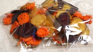 Dried sweet potato snack (Goguma-mallaengi: 고구마말랭이)