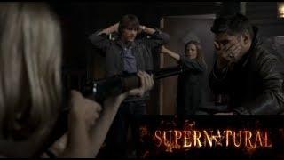 Сэм и Дин впервые встречают Еллен и Джо | Supernatural 2x02
