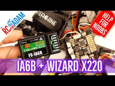 how-to-connect-flysky-ia6b-to-eachine-wizard-x220-quadcopter-spracingf3