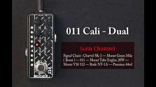 Mooer Micro PreAMP 011 90's Metal Plate - Cali-Dual Video