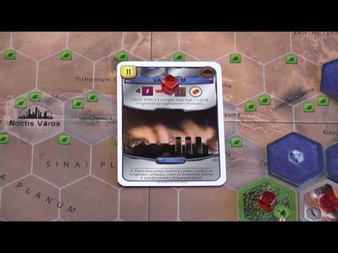 A Mars terraformálása társasjáték - d3meeples