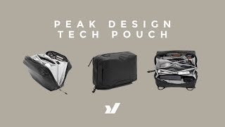 Unrivalled Organisation - The Peak Design Tech Pouch