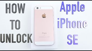 How to Unlock iPhone SE for EVERY Network (Cricket, Boost Mobile, AT&T, T-Mobile, Verizon, ETC)