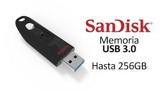 Sandisk Ultra Memoria USB 3.0 de hasta 256GB