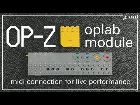 Teenage Engineering OP-Z | oplab module - MIDI Performance