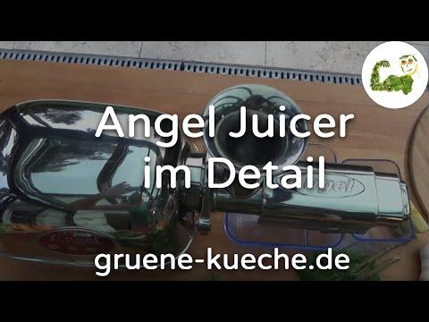 Angel Juicer im Test. Säfte pressen und Reinigung