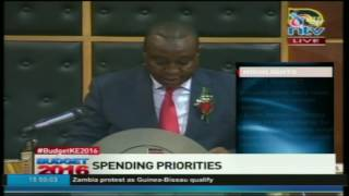 Full Kenya Budget Speech 2016