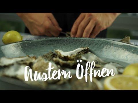 Austern öffnen - So geht das! Gourmondo Food Studio