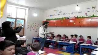 preview picture of video 'Children's creativity sarzamin shadiha kindergarten 1393'