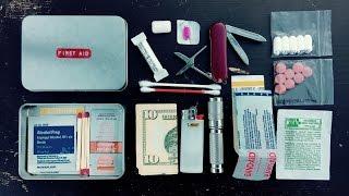 Tin Box First Aid Kit | Altoids Tin