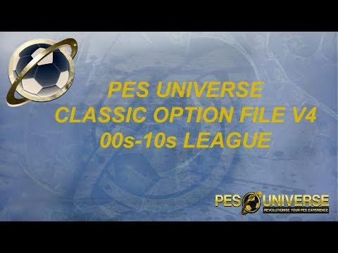 TTB] PES 2019 - PES Universe Classic Option File V1 - Showcase of