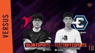 Talon Esports vs Electrify Esports // Rainbow Six APAC North Division - Playday #10