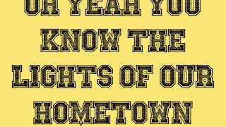 Lights Of My Hometown (Lyrics) - Brian Davis