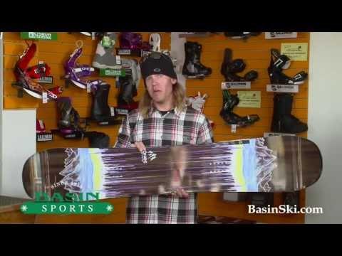 Jones Mountain Twin Snowboard Review 2014