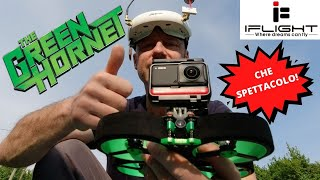 GREEN HORNET IL DRONE CINEWHOOOP DELLA IFLIGHT RECENSIONE PROVA VOLO CON INSTA360 ONE R SPETTACOLARE
