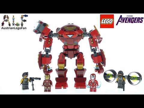 Vidéo LEGO Marvel 76164 : Iron Man Hulkbuster contre un agent de l'A.I.M.