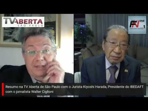 Resumo com o Jurista Kiyoshi Harada na TV Aberta