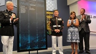Kyle Carpenter's Hall of Heroes Induction