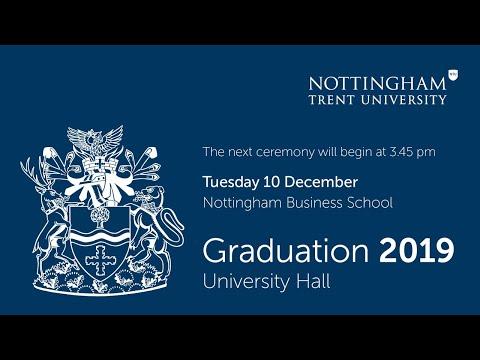 NTU Graduation Dec 2019 - Ceremony 7: Nottingham Business School 3.45 pm