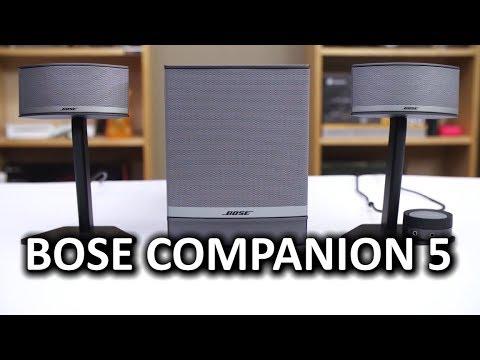 Bose Companion 5 Desktop PC Speakers