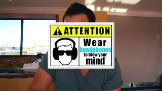 """""""3D sound"""" LISTEN! Binaural Mic/Headphones Roland CS-10EM"""